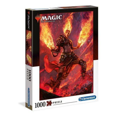 Clementoni® Puzzle »39561 Magic The Gathering Feuer 1000 Teile Puzzle«, 1000 Puzzleteile