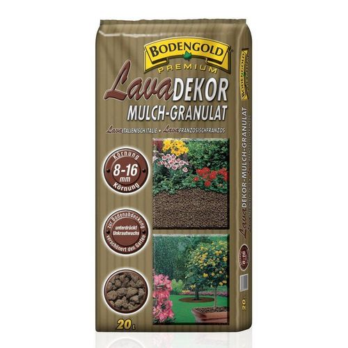 Bodengold Mulchsubstrat »Lava«