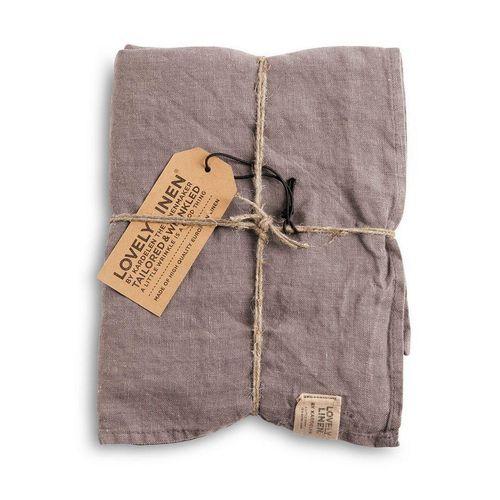 Lovely Linen Handtuch »Geschirrhandtuch aus Leinen 45 x 70 cm«, grau