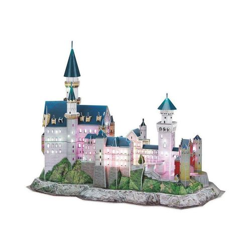 Revell® 3D-Puzzle »3D-Puzzle Schloss Neuschwanstein-LED Edition