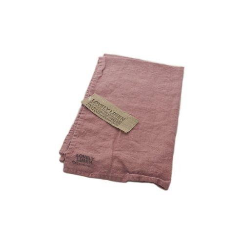 Lovely Linen Handtuch »Geschirrhandtuch aus Leinen 45 x 70 cm«, rosa