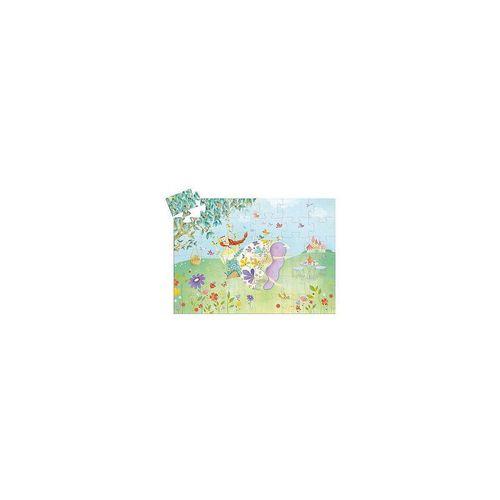 DJECO Puzzle »Formen-Puzzle Blumenfee, 36 Teile«, Puzzleteile