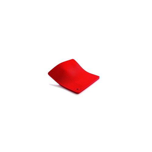 WOLL Topfhandschuhe »Silikon Topflappen Silikon Topflappen«, (1-tlg), rot