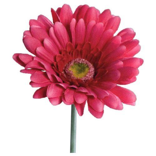 Kunstblume »Gerbera Kunstblumen Blüten 1 Stk 56 cm pink