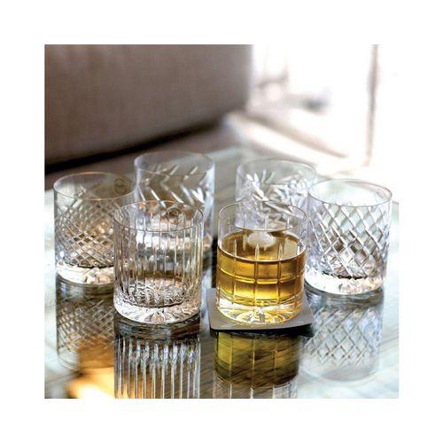 Newport Gläser-Set »JFK Tumbler Low 6er Set; Kristallgläser / Whiskygläser