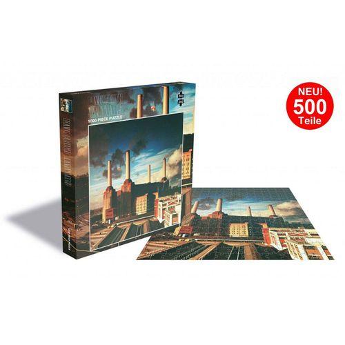 empireposter Puzzle »Pink Floyd Animals - 500 Teile LP Cover Puzzle im Format 39x39 cm«, 500 Puzzleteile
