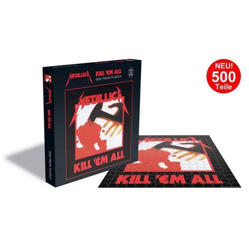 empireposter Puzzle »Metallica Kill Em All