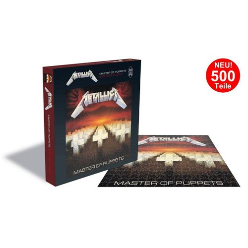 empireposter Puzzle »Metallica Master Of Puppets