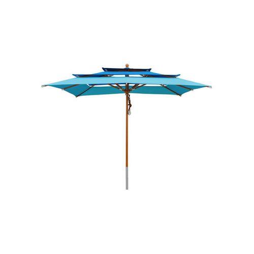 anndora-sonnenschirm Sonnenschirm »Sonnenschirm 3-lagig 3x3m - Farbwahl«, blau