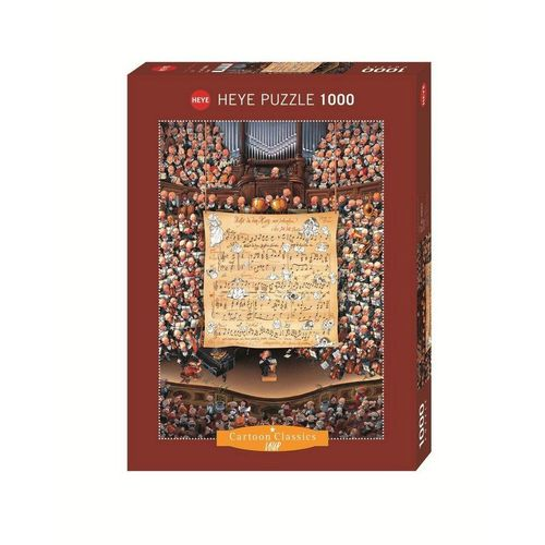 HEYE Puzzle »HEYE 29564 Loup Score Cartoon Classics 1000 Teile Puzzle
