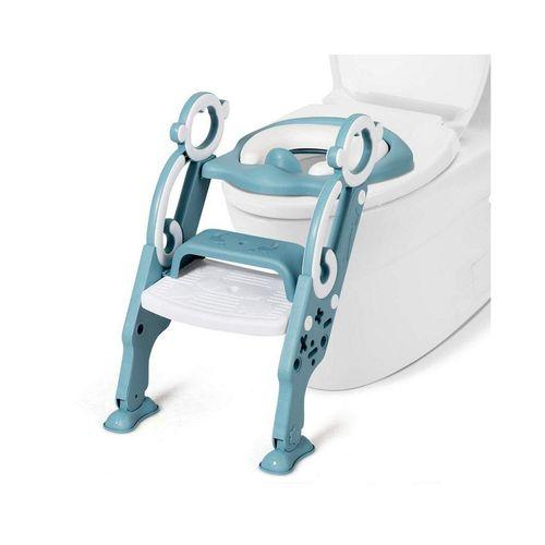 COSTWAY Baby-Toilettensitz Kinder-Toilettensitz