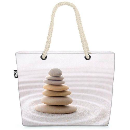 VOID Strandtasche (1-tlg), Steine Sand Feng Shui Steine Sand Feng Shui Steingarten Massage Welln