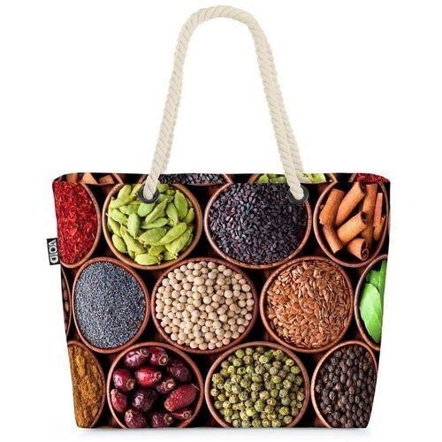 VOID Strandtasche (1-tlg), Kochen Gewürze Küche Gewürze Kochen Küche Pfeffer Hobby Aroma Deko Re