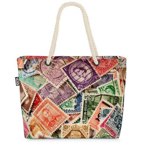 VOID Strandtasche (1-tlg), Briefmarken Post Sammlung Briefmarken Post Sammlung Brief Sammeln Alb