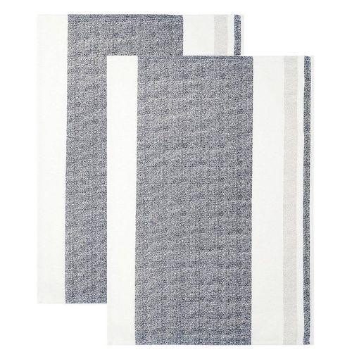 Lashuma Geschirrtuch »Rustik«, (Set, 2-tlg), Saugstarke Küchenhandtücher, Trockentücher 48x68 cm