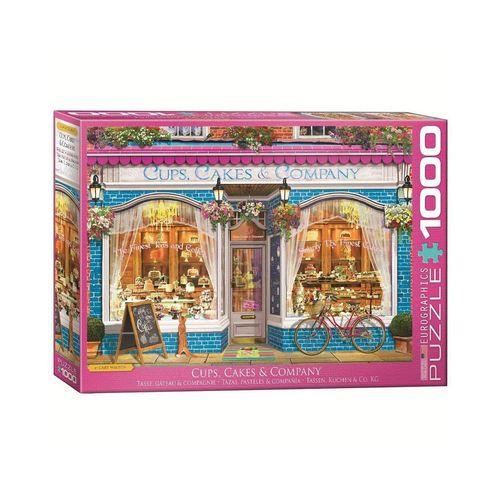 EUROGRAPHICS Puzzle »6000-5520 Tassen Kuchen & Co. 1000 Teile Puzzle«, Puzzleteile