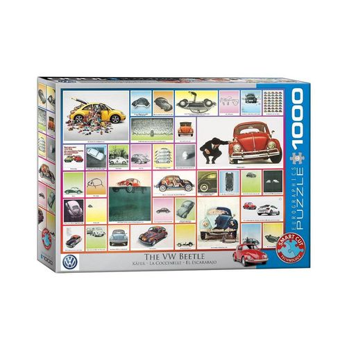 EUROGRAPHICS Puzzle »EuroGraphics 6000-0800 VW Käfer 1000 Teile Puzzle«, Puzzleteile, bunt