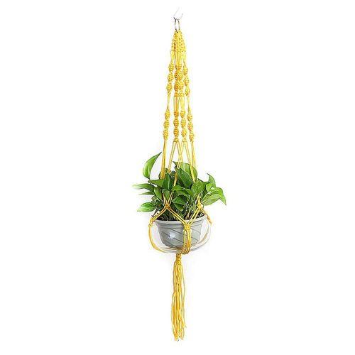 Masbekte Dekohänger, Blumenampel Blumentopf Pflanzen Wohnkultur Topfpflanzgefäß, Höhe ca. 105cm