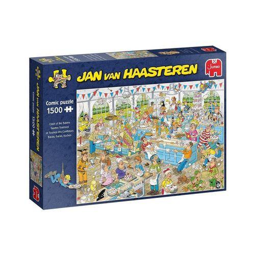 Jumbo Spiele Puzzle »19077 Jan van Haasteren Backe,backe,Kuchen«, 1500 Puzzleteile