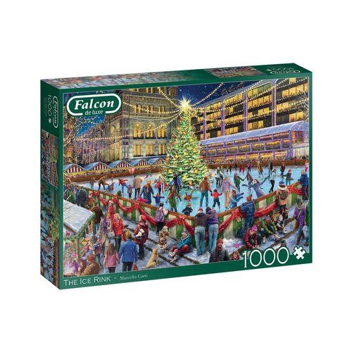 Falcon Puzzle »11342 Marcello Corti Die Eisbahn 1000 Teile Puzzle