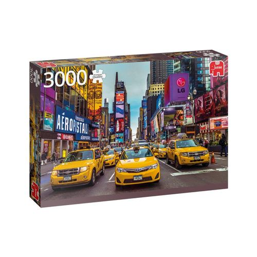 Jumbo Spiele Puzzle »18832 Taxis in New York 3000 Teile Puzzle