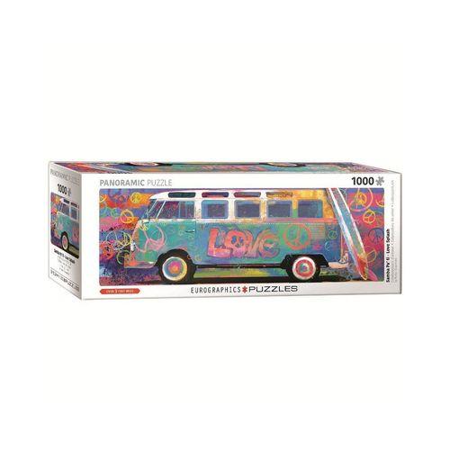 EUROGRAPHICS Puzzle »EuroGraphics 6010-5549 Love Bus 1000-Teile Puzzle«, 1000 Puzzleteile, bunt