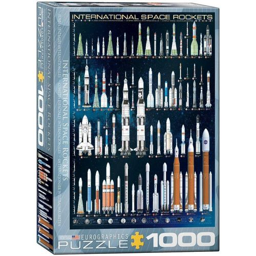 EUROGRAPHICS Puzzle »Puzzles 501 bis 1000 Teile 6000-1015«, Puzzleteile