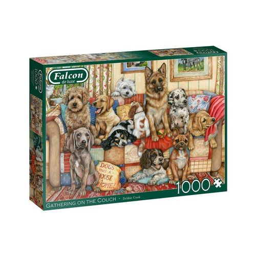 Falcon Puzzle »11293 Gathering on the Couch 1000 Teile Puzzle