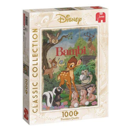 Jumbo Spiele Puzzle »19491 Bambi 1000 Teile Classic Collection Puzzle«, 1000 Puzzleteile, bunt