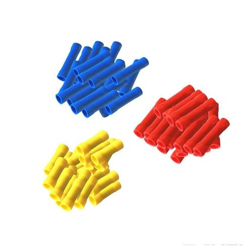 Verbinder »ARLI 150 x Stossverbinder isoliert 0,5 - 1,5 mm² (50 x rot 50 x blau 50x gelb)«, ARLI