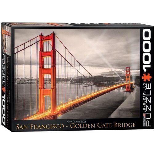 empireposter Puzzle »Golden Gate Brücke San Francisco - 1000 Teile Puzzle im Format 68x48 cm«, Puzzleteile