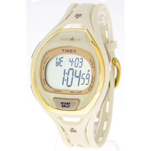 Timex® Ironman Digitaluhr »Timex Ironman Sleek 50 TW5M06100 weiß gold«
