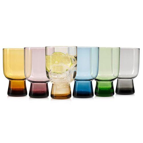 SÄNGER Gläser-Set »Corsica«, Glas, Mediterranes Design