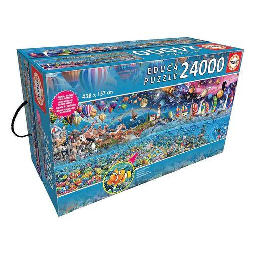 Educa Puzzle »LEBEN«, 24000 Puzzleteile