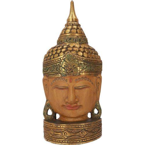 Guru-Shop Buddhafigur »Stehende Buddha Maske, Thai Buddha Statue -..«