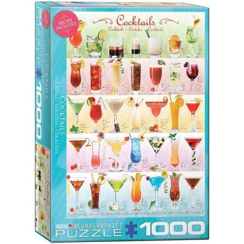 empireposter Puzzle »Bunte Cocktail Rezepte