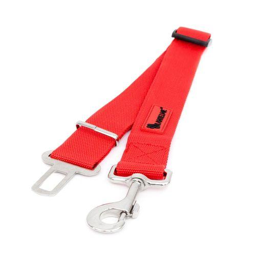 Lantelme Hunde-Geschirr »Hundeleine Sicherheitsgurt PKW«, 4,5cm Breit 60 bis 95cm Lang, rot