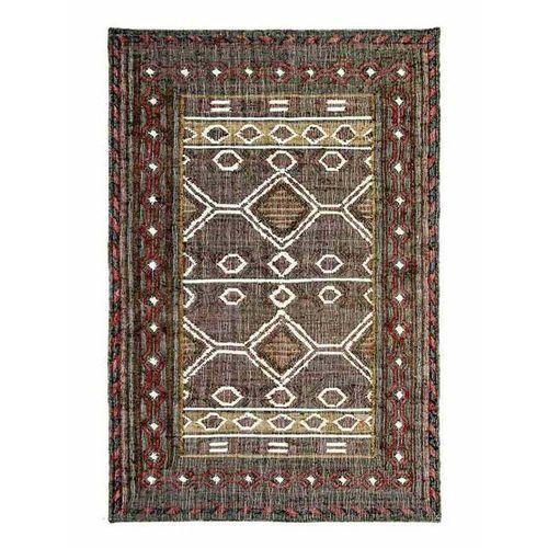 Teppich »Ziva - Juteteppich, handgewebt«, Fable & Loom, rechteckig, Höhe 10 mm, handgewebter Juteteppich, Naturteppich, Wendeteppich