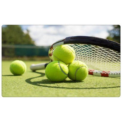 DesFoli Wandtattoo »Tennis Tennisball Tennisplatz R0613«