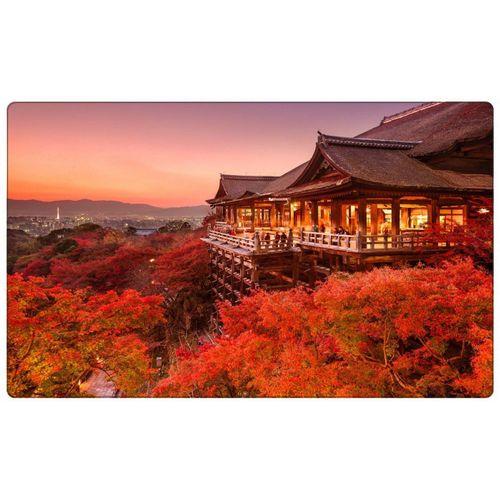 DesFoli Wandtattoo »Buddhistischer Tempel Buddha Japan R0790«, bunt