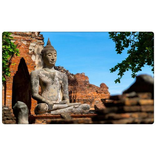 DesFoli Wandtattoo »Buddha Buddhismus Religion R0774