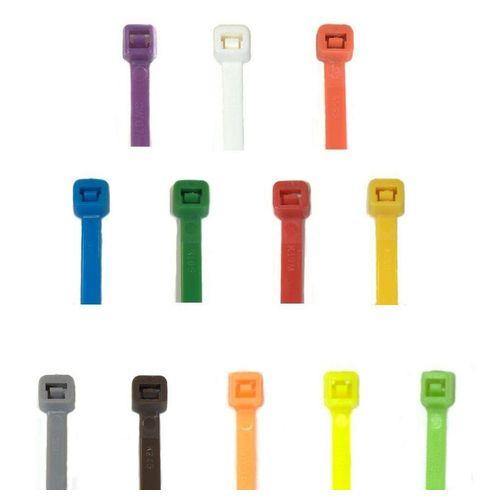 RheVeTec RheFLEX Kabelbinder »Kabelbinder Farbig, viele Farben und Größen« Kabelbinder viele Farben, rot