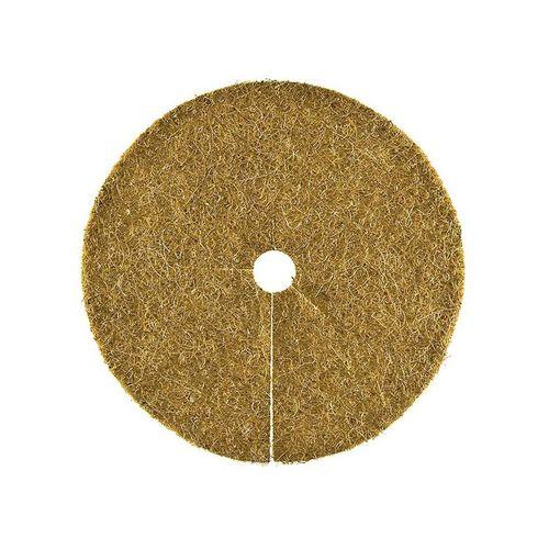 HaGa Kokosscheibe »Kokosscheibe XL Kübelabdeckung Ø 60cm«, Kokosscheibe mit Loch, Kübelabdeckung, Winterschutz für Topfpflanzen, Mulchscheibe