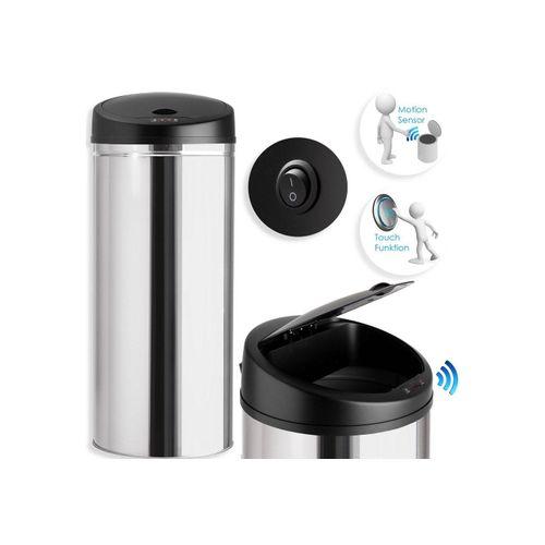 KESSER Mülleimer, Abfalleimer Abfall EDELSTAHL Papierkorb Automatik Sensor 30L 40L 50L 56L