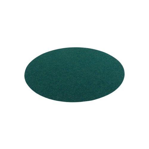 Rasenteppich »Kunstrasen Rasenteppich mit Noppen Kingston Rund«, Snapstyle, Rund, Höhe 7 mm, grün