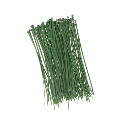 HaGa Kabelbinder »100 Stück Kabelbinder 370mm x 7,6mm in grün« (100-St), grün