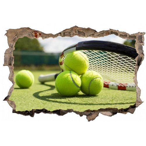 DesFoli Wandtattoo »Tennis Tennisball Tennisplatz D0613«