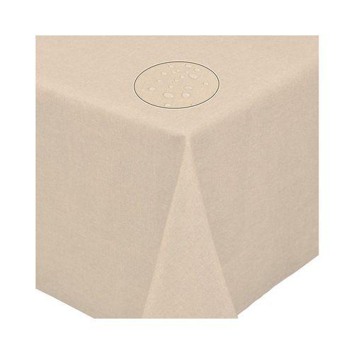 Fiora Tischdecke »Leinenoptik Lotuseffekt Tischtuch bügelfreie Tischdecke mit Fleckschutz