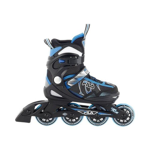 Fila Skates Inlineskates »Inlineskate J-One Plus black/blue Größe S (28-32)«, schwarz