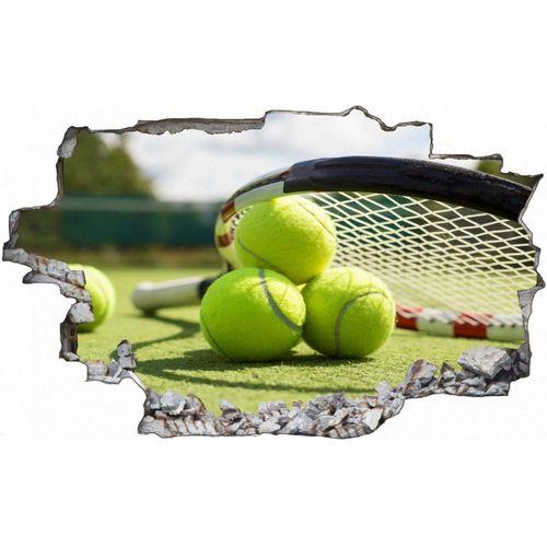 DesFoli Wandtattoo »Tennis Tennisball Tennisplatz C0613«